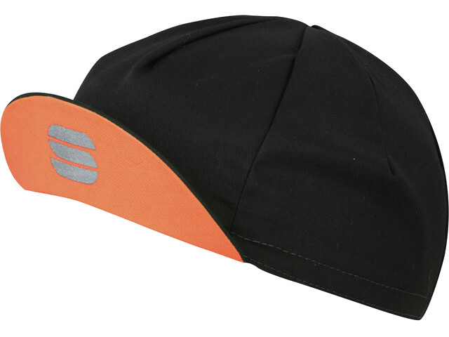 Sportful Infinite Cap black/coral fluo